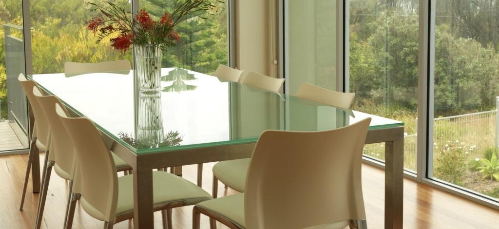 Custom Glass Table Top - MD GLASS